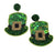 St. Patricks's Day Hat Earrings