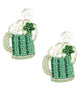 St. Patrick's Day Beer Earrings