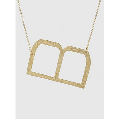 Initial Necklace - B