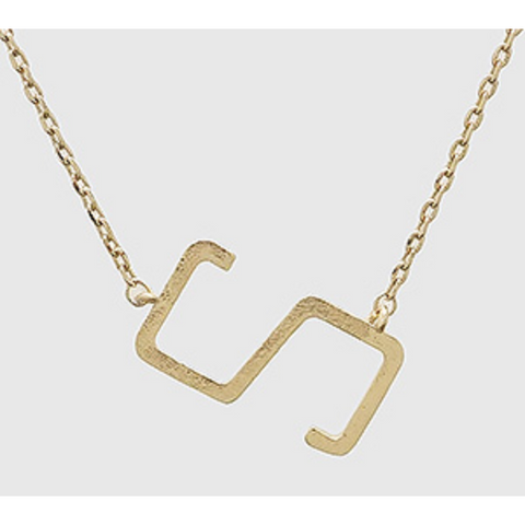 Smaller Initial Necklace - S