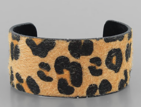 Leopard Cuff Bracelet - Small - Shop Golden Lily