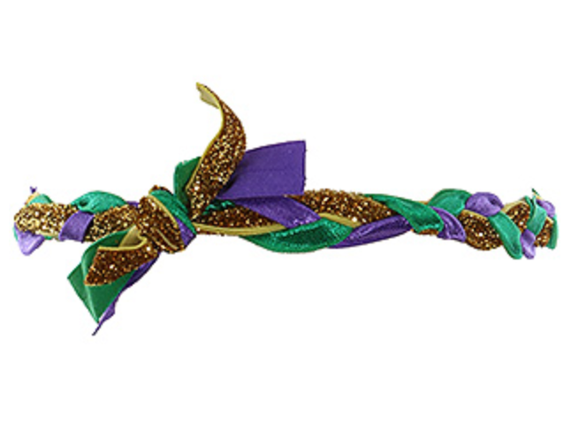 Mardi Gras Twist Headband
