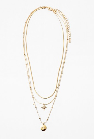Star and Pendant Necklace