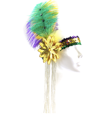 Mardi Gras Queen Headband