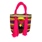 Sunset Tassel Bag