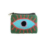 Green & Aqua coin purse
