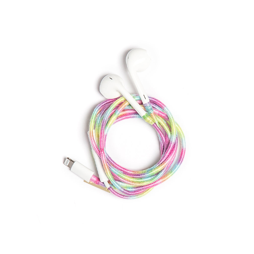 Cotton Candy Earphones