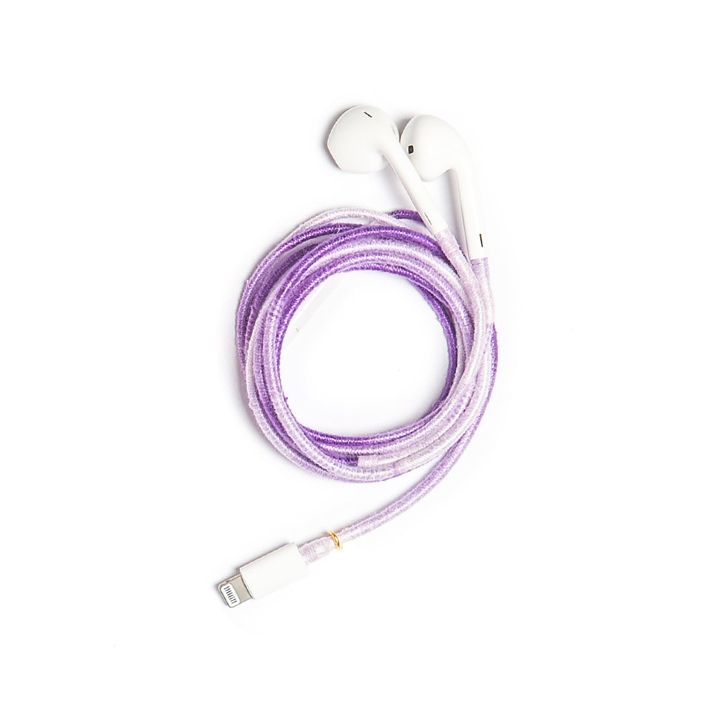 Purple Rain Earphones