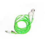Neon Green Earphones