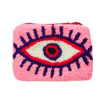 Pink & White coin purse