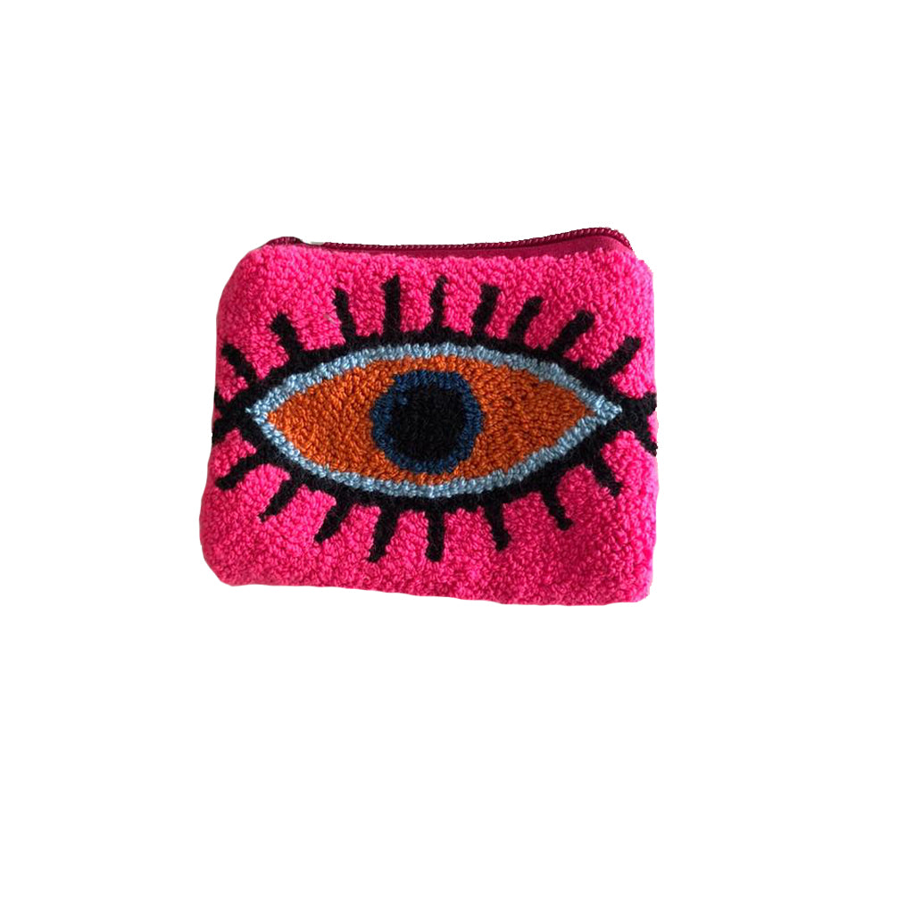 Pink & Orange coin purse