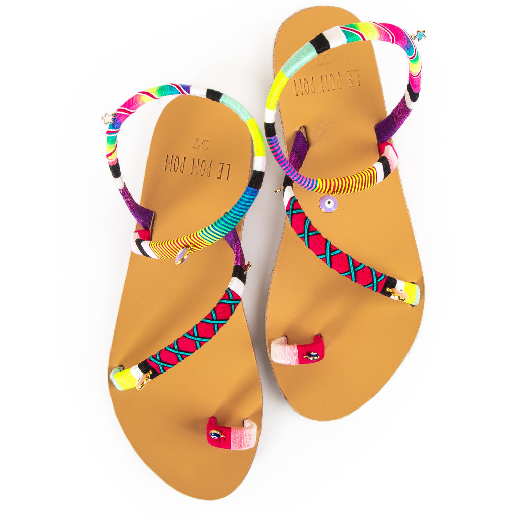 Penny Crossover Sandals