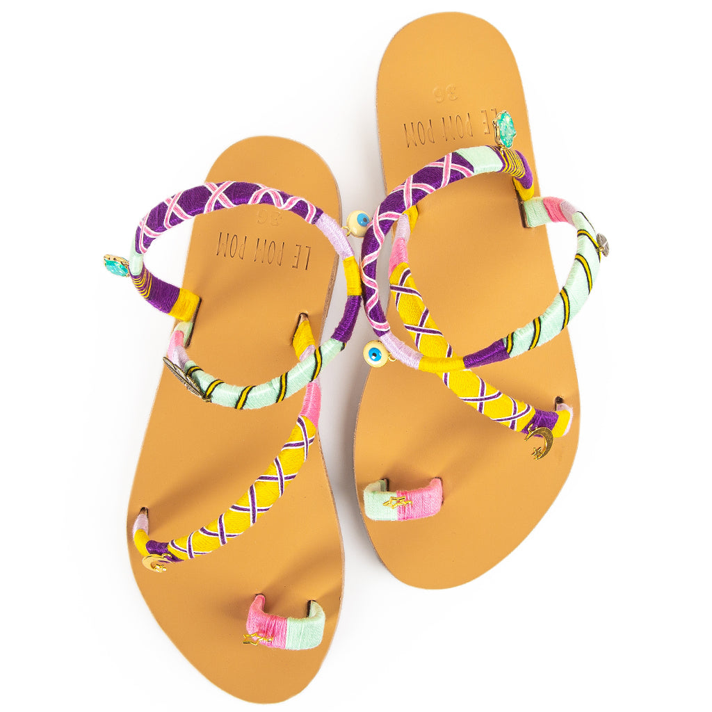 Sunny Crossover Sandals