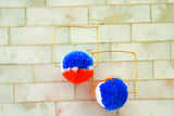 Cindy Pom Pom Earrings