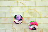 Sylvia Pom Pom Earrings