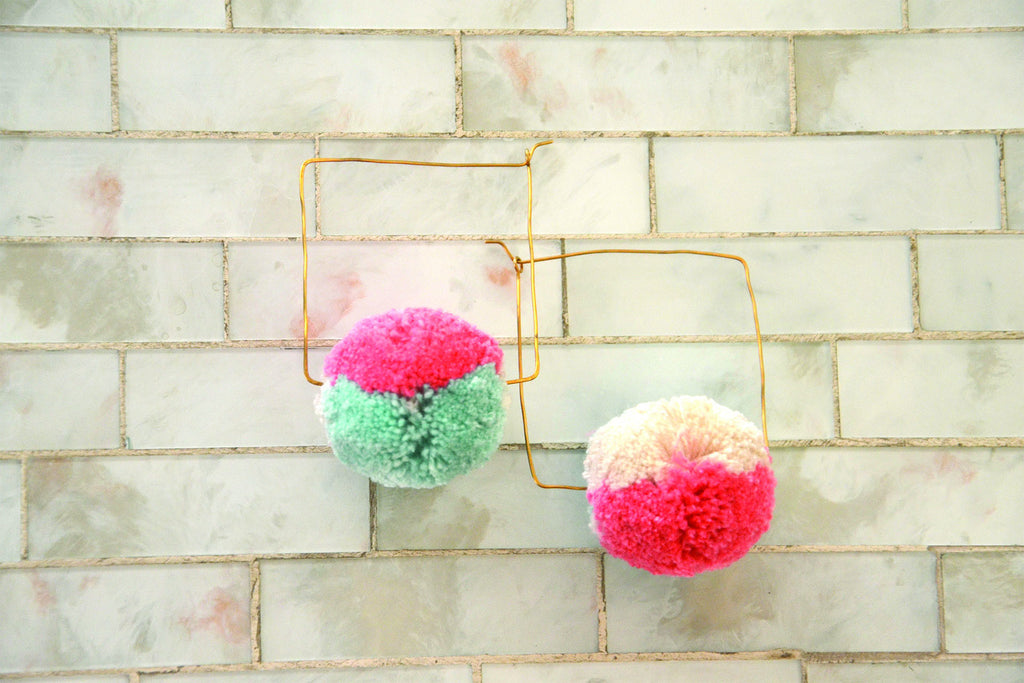 Ellery Pom Pom Earrings