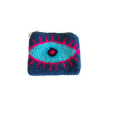 Dark Blue & Light blue coin purse