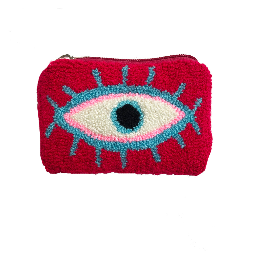 Red & Blue coin purse