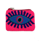 Blue & Pink coin purse