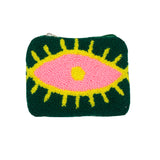 Green & Pink coin purse