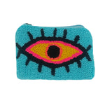 Blue & Mustard Coin Purse