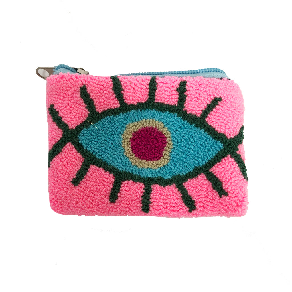 Baby Pink & Blue coin purse