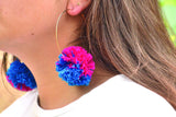 Lea Pom Pom Earrings