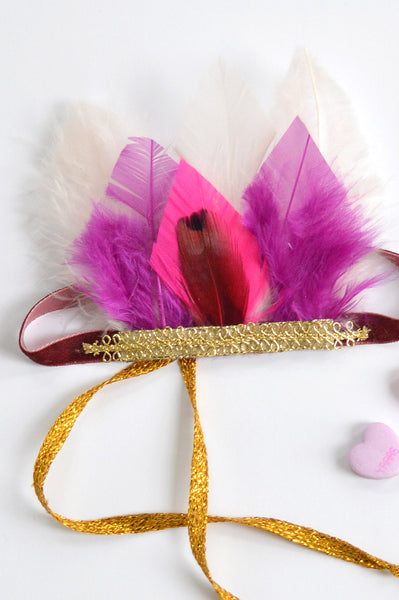 Feather Headband - DaintyCheeks