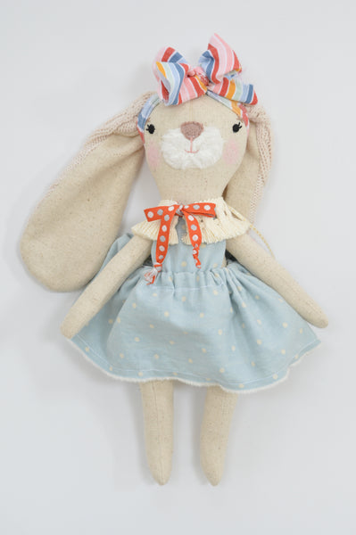 Baby Bunny // Vintage Blue Dot - DaintyCheeks
