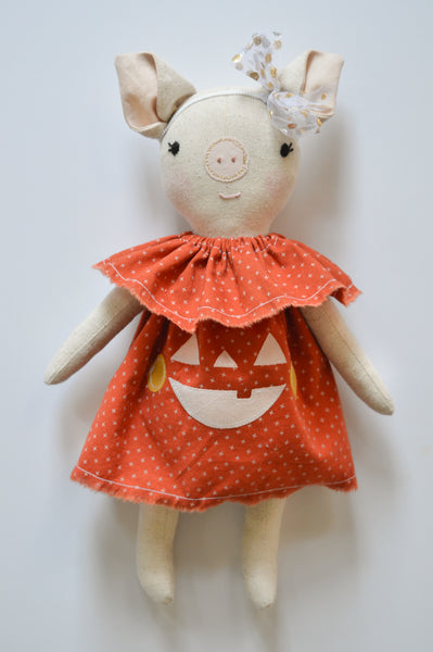 Baby-Sized Cute Pumpkin Dress