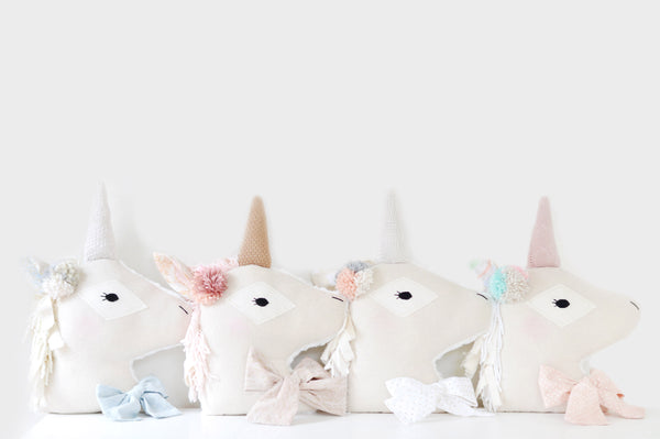 Unicorn Pillow // No. 1 - DaintyCheeks