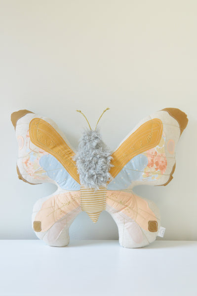 Eclectic Artisanal Butterfly Cushion // No. 1