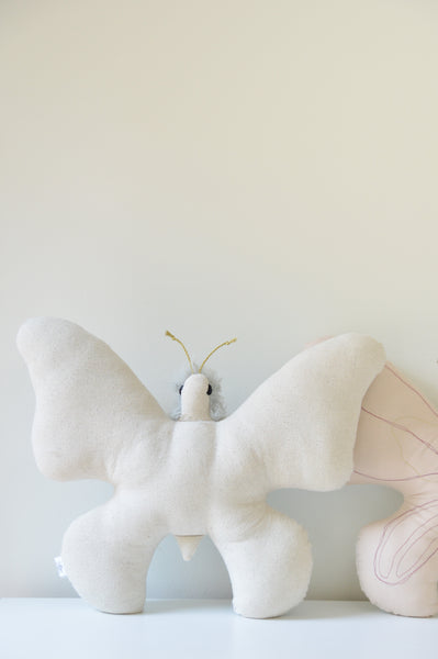 Minimalist Artisanal Butterfly Cushion // Preorder