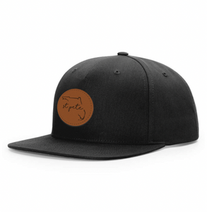 9.1  Leather Patch Trucker Hat