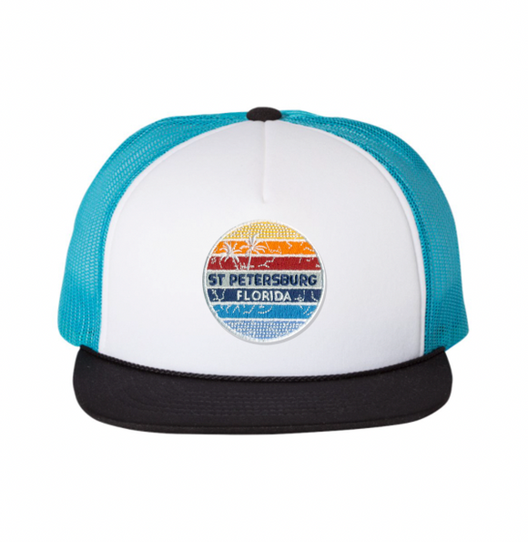 Sunset Patch Foam Hat