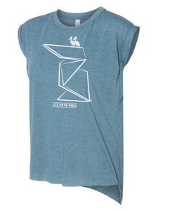 1. Rolled Cuff Muscle Tee - Pier Pelican