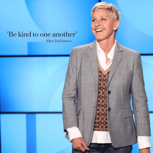 Happy Birthday to our Inspiration – Ellen DeGeneres