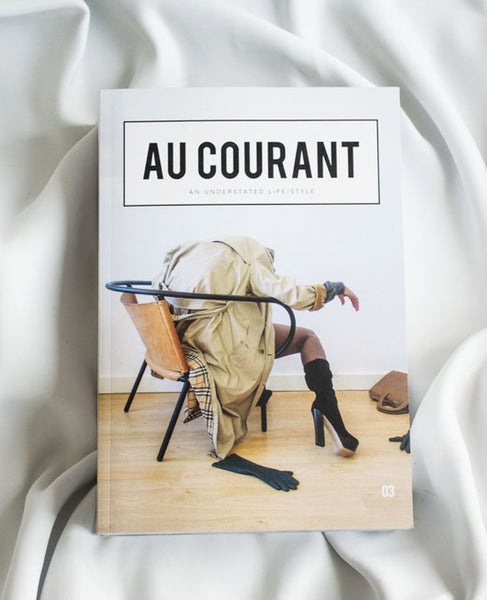 au courant magazine x nihilo leather bgas