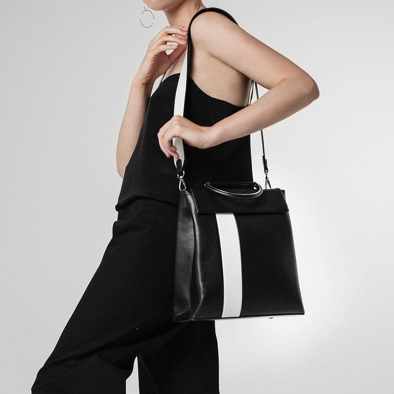 Shoulder Strap - Black/White