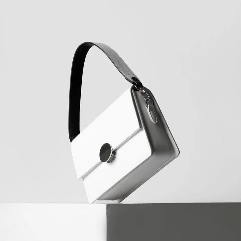 Handle Strap - Black/White