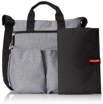Bolsas Maternidade Duo Signature Heather Grey - Skiphop - MaiSapeca