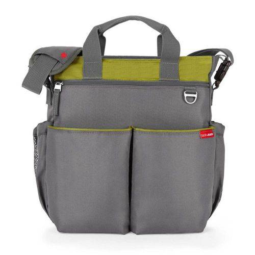 Bolsas Maternidade Duo Signature Charcoal Lime - Skiphop - MaiSapeca