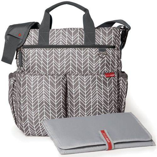 Bolsas Maternidade Duo Signature Grey Feather - SKIPHOP - MaiSapeca