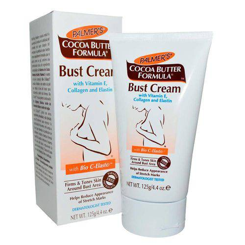 Cocoa Butter Bust Cream Palmers Firmador Corporal 125ml - MaiSapeca