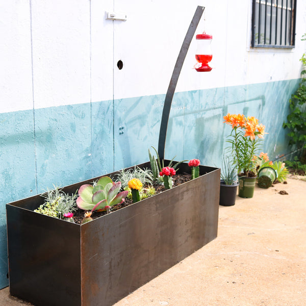 501 INDUSTRIAL MODERN PLANTER BOX