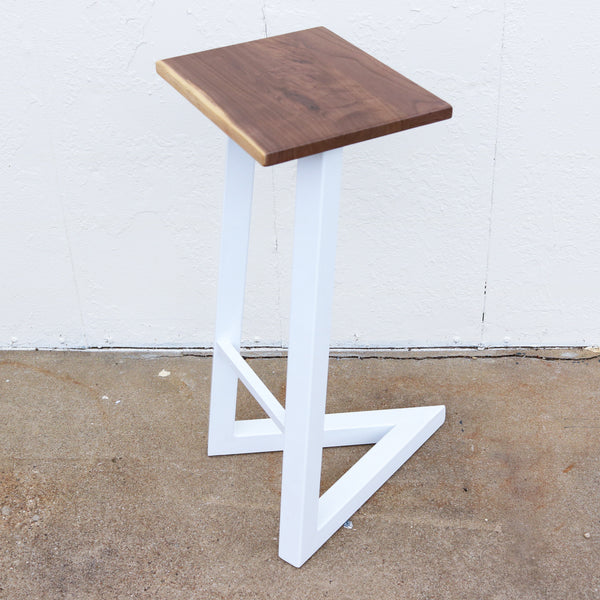 404 HOUNDSTOOTH STOOL