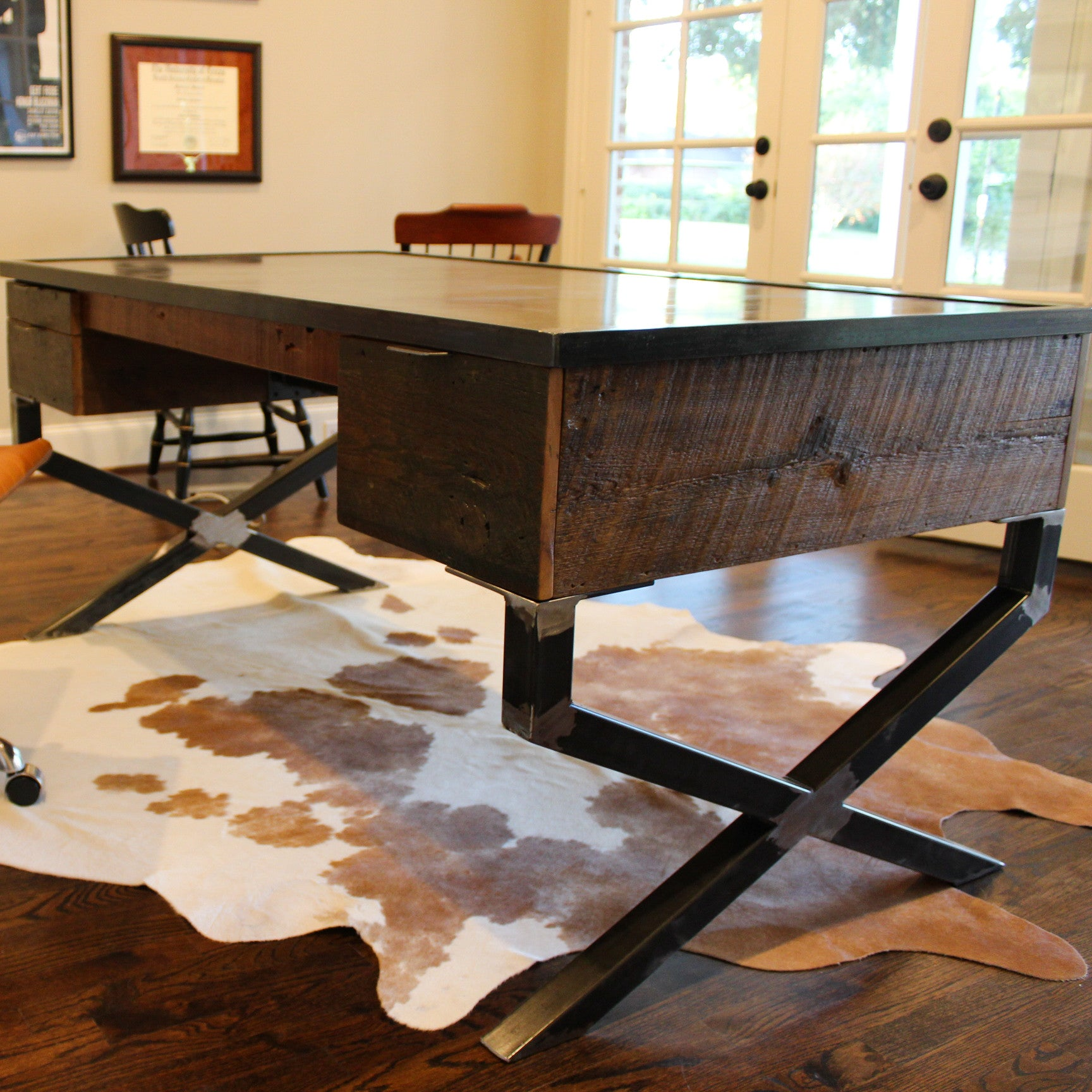 mere jeffrey desk posted for wood mortals woodworking perrigo burke by reclaimed