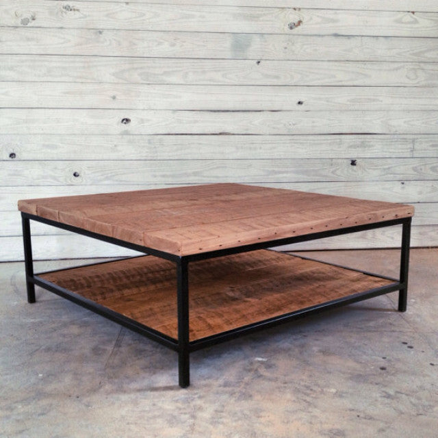 254 RECLAIMED WOOD COFFEE TABLE