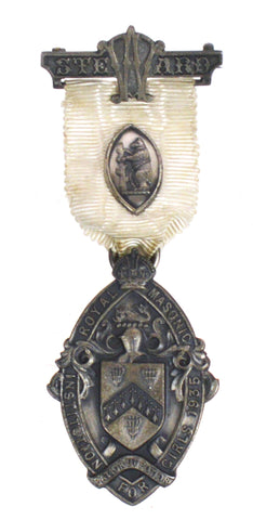 Hallmarked Silver Royal Masonic Institute For Girls 1935 Stewards Jewel Medal