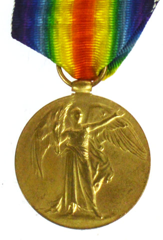 World War One Victory Medal - 36056 Pte S Everson, Royal Welsh Fusiliers
